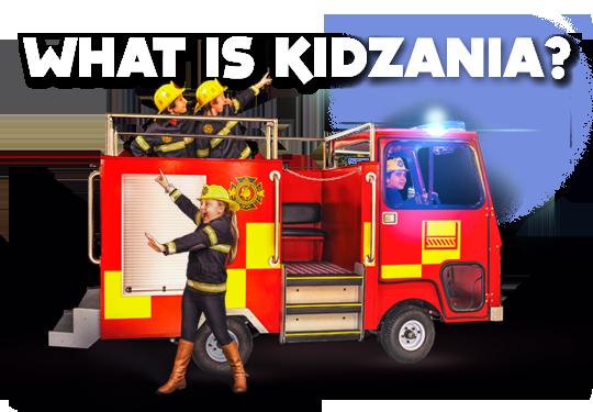 KidZania is an indoor city, run by kids!