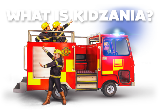 KidZania is an indoor city, run by kids!