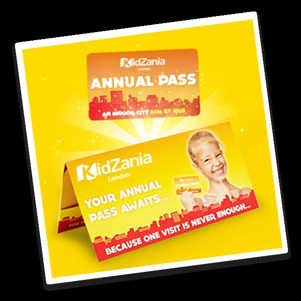 KidZania's Annual Pass GIFT!