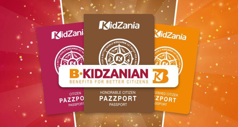 Get a KidZania PaZZport!