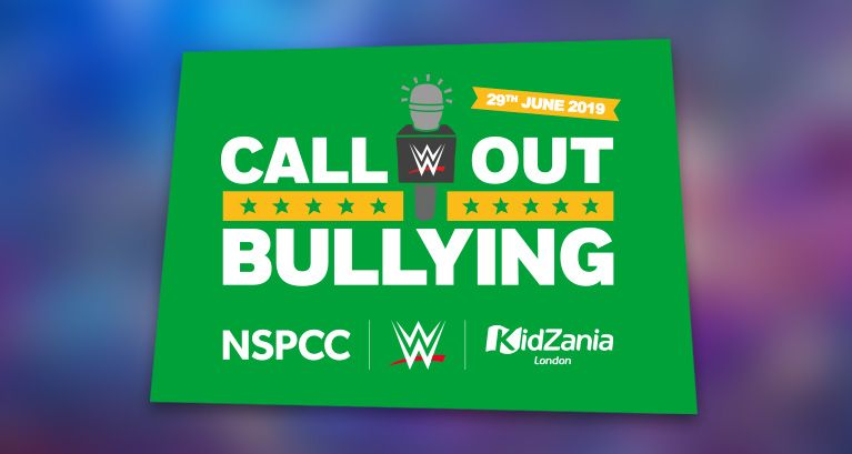 "WWE x NSPCC ""Call Out Bullying"" Campaign"