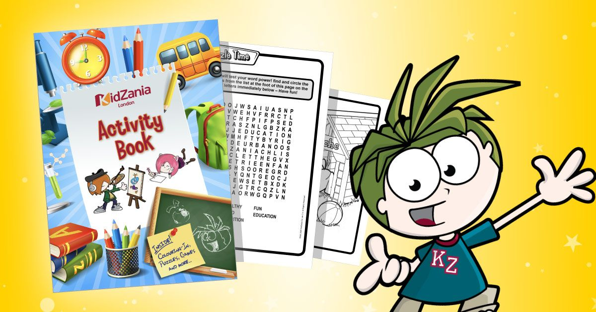 #KidZaniaAtHome Activity Packs!