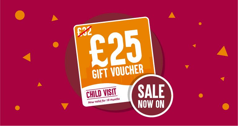 Gift Vouchers Now Just £25!