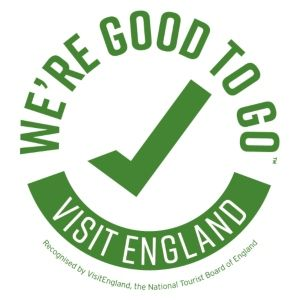 We've been certified 'Good to Go' by Visit Britain!