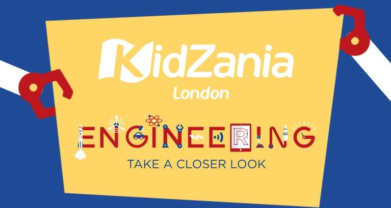 Discover KidZania's Year of Engineering Festival from May to September 2018!