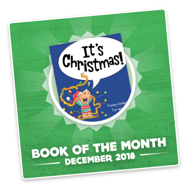 Author, Tracey Corderoy joins us for December's Book of the Month! - Saturday 1st DECEMBER 2018