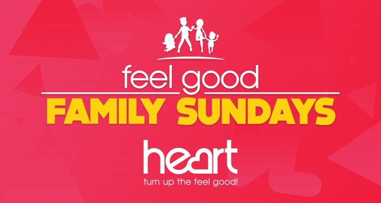 Join us every Sunday for Heart Feel Good Family Sundays!