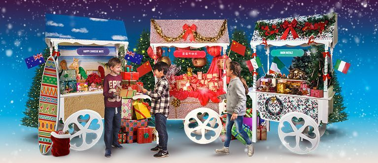 Have a very global Christmas at KidZania!