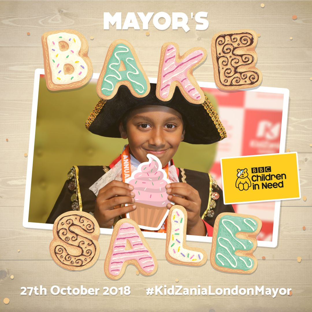 Mayor's Bake Sale for Children in Need!