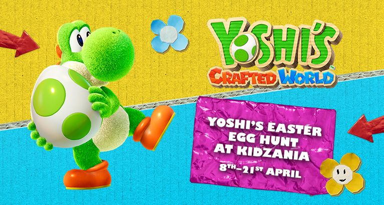 Yoshi's Easter Egg Hunt