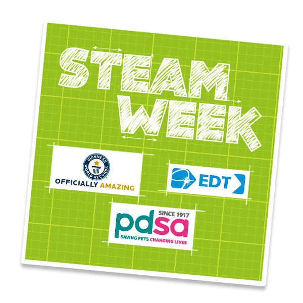 Lots of exciting activities with Guinness World Records, PDSA & Engineering Development Trust!