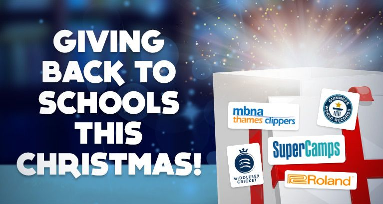 Giving Back To Schools This Christmas!