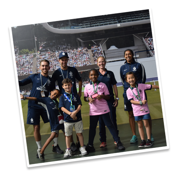 Middlesex Cricket Themed Day at Summer Camp!