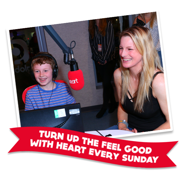 NOW INTRODUCING Heart Feel Good Family Sundays - making Sundays fun for the whole family!
