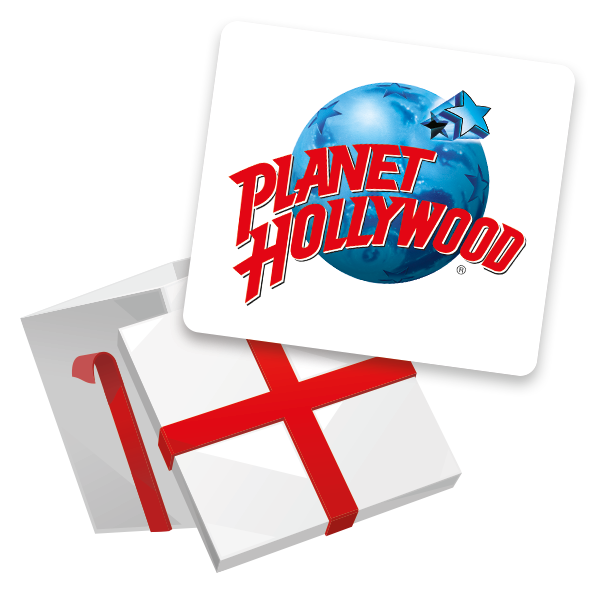 1 x Meal for 4 at Planet Hollywood!
