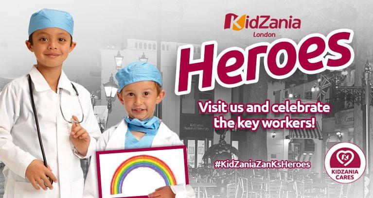 KidZania ZanKs Heroes!