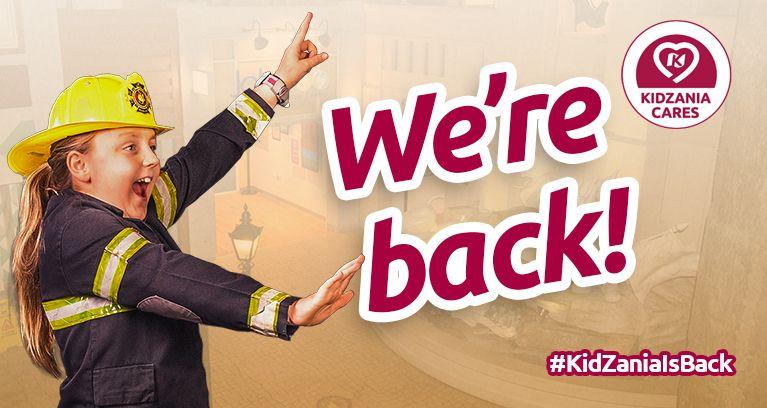 KidZania Is Back!